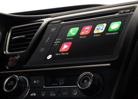 Apple представила CarPlay Infotainment System