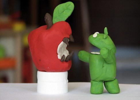 Android забирает у iOS рынок планшетов