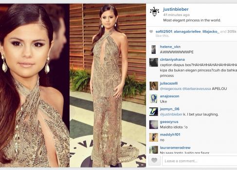 Пост Джастина Бибера положил Instagram