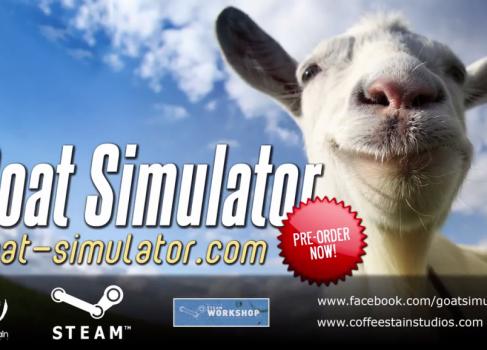 На Steam анонсирован первоапрельский «Симулятор козла»